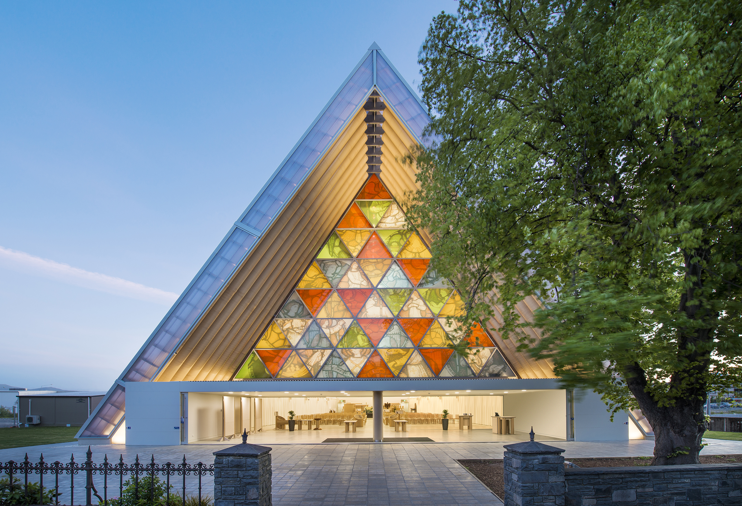 Cardboard Cathedral, 2013, Christchurch, New Zealand