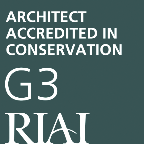 RIAI Architect accredited in conservation