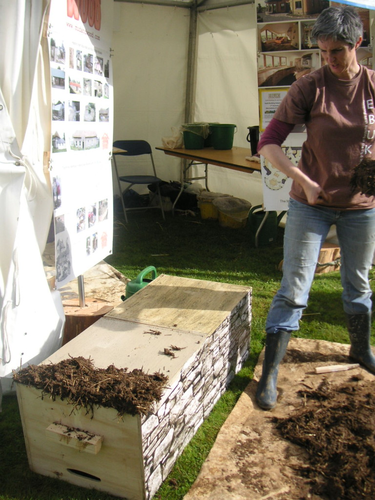 Wicklow's Heritage Buildings Show 2015 - Mud Wall Construction - Féile Butler