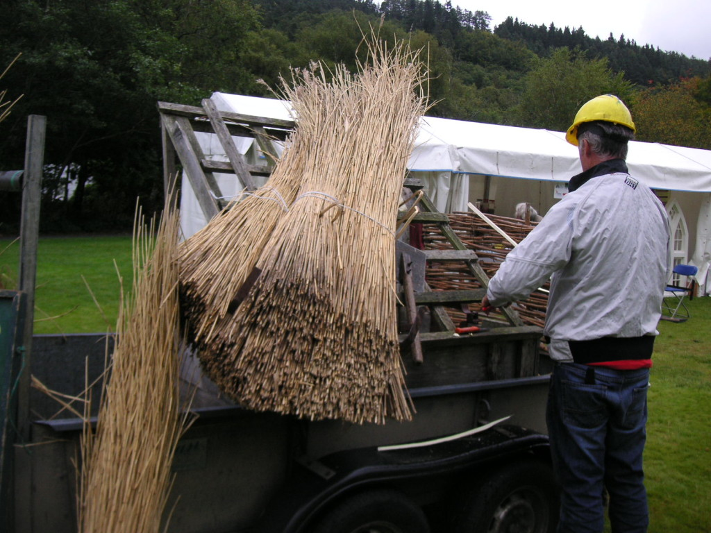 Wicklow's Heritage Buildings Show 2015 - Thatch