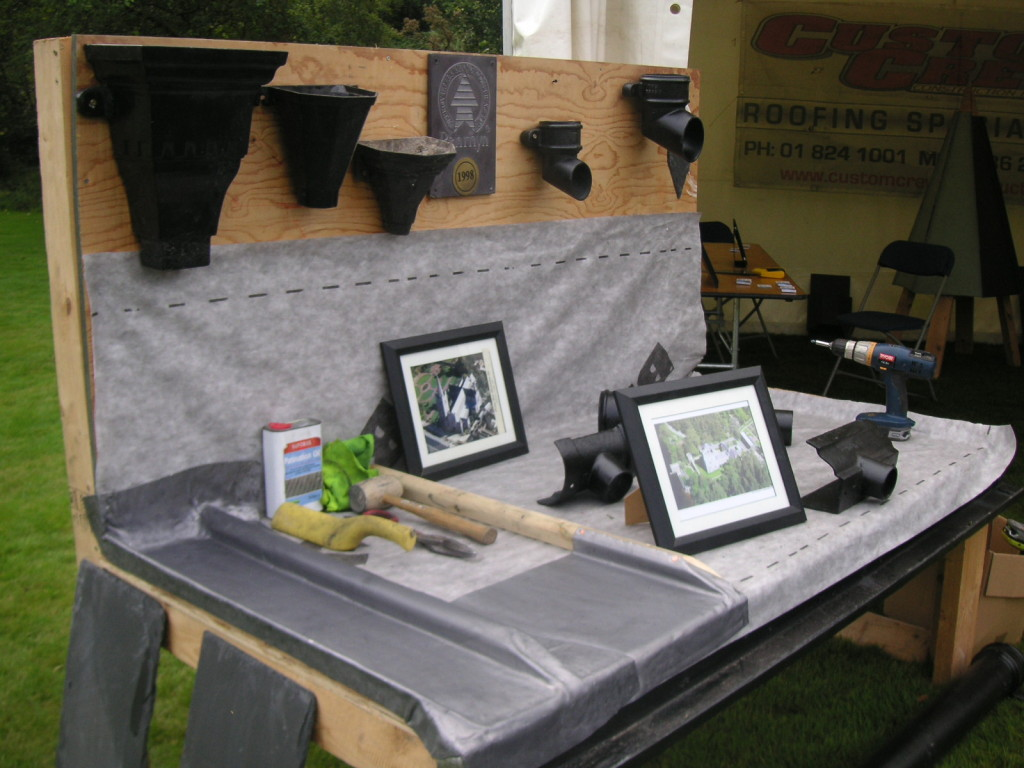 Wicklow's Heritage Buildings Show 2015 - Roofs and gutters