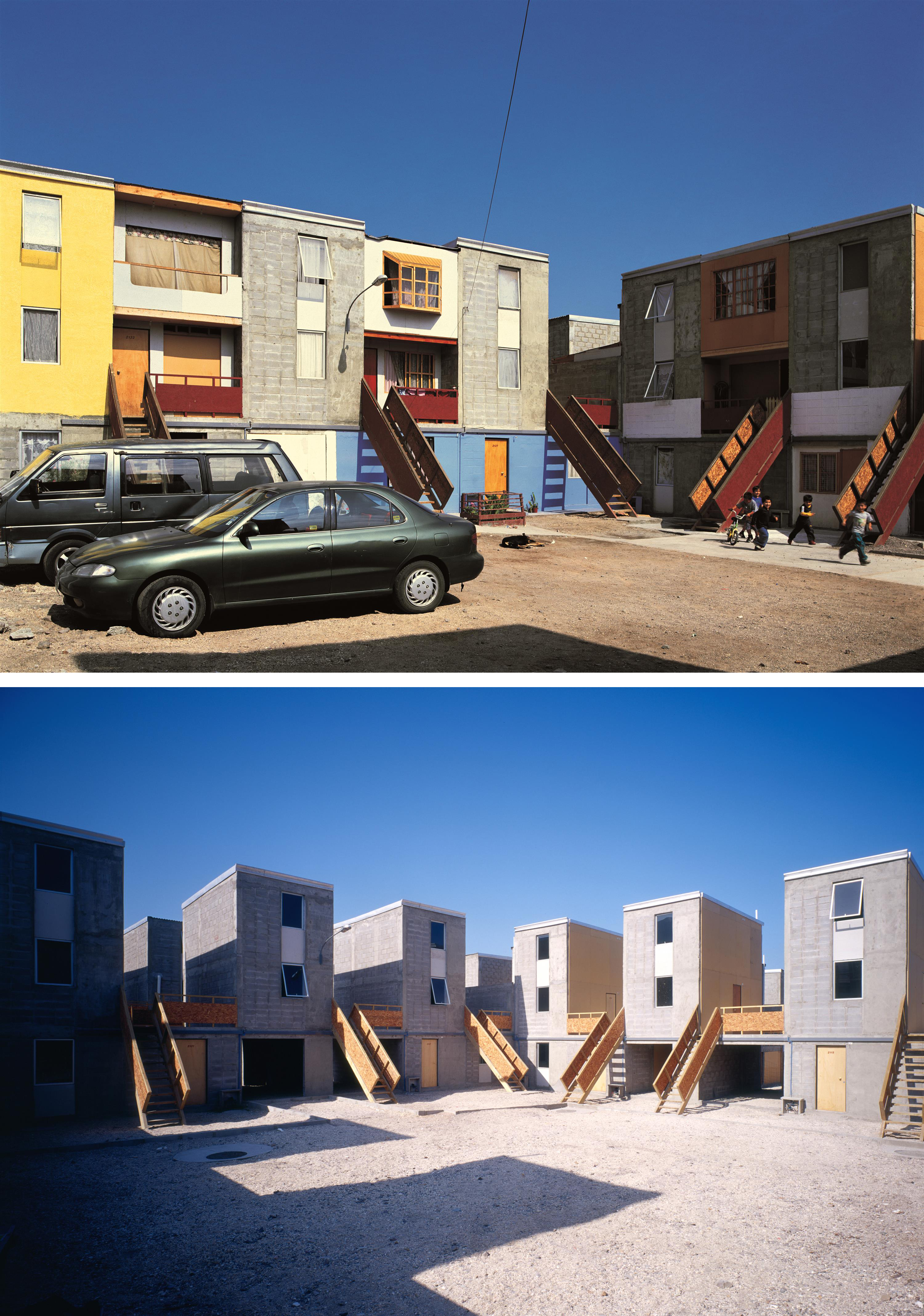 Quinta Monroy Housing, 2004, Iquique, Chile