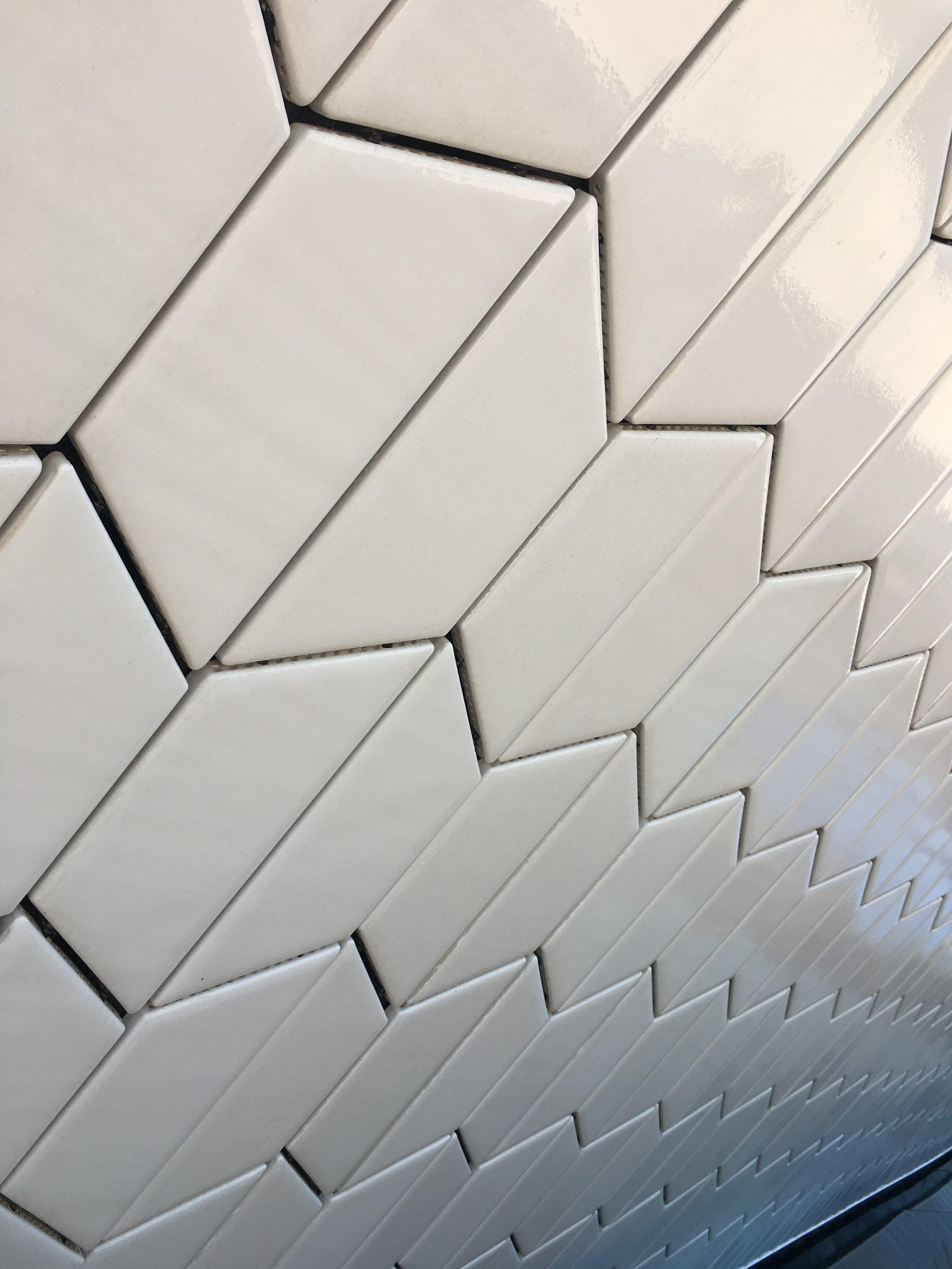 Wall tiles, MAAT Lisbon