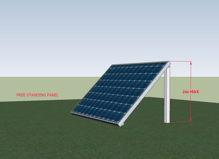 Solar Panels - Conditions to be exempt from Planning Permission, Ireland 2018