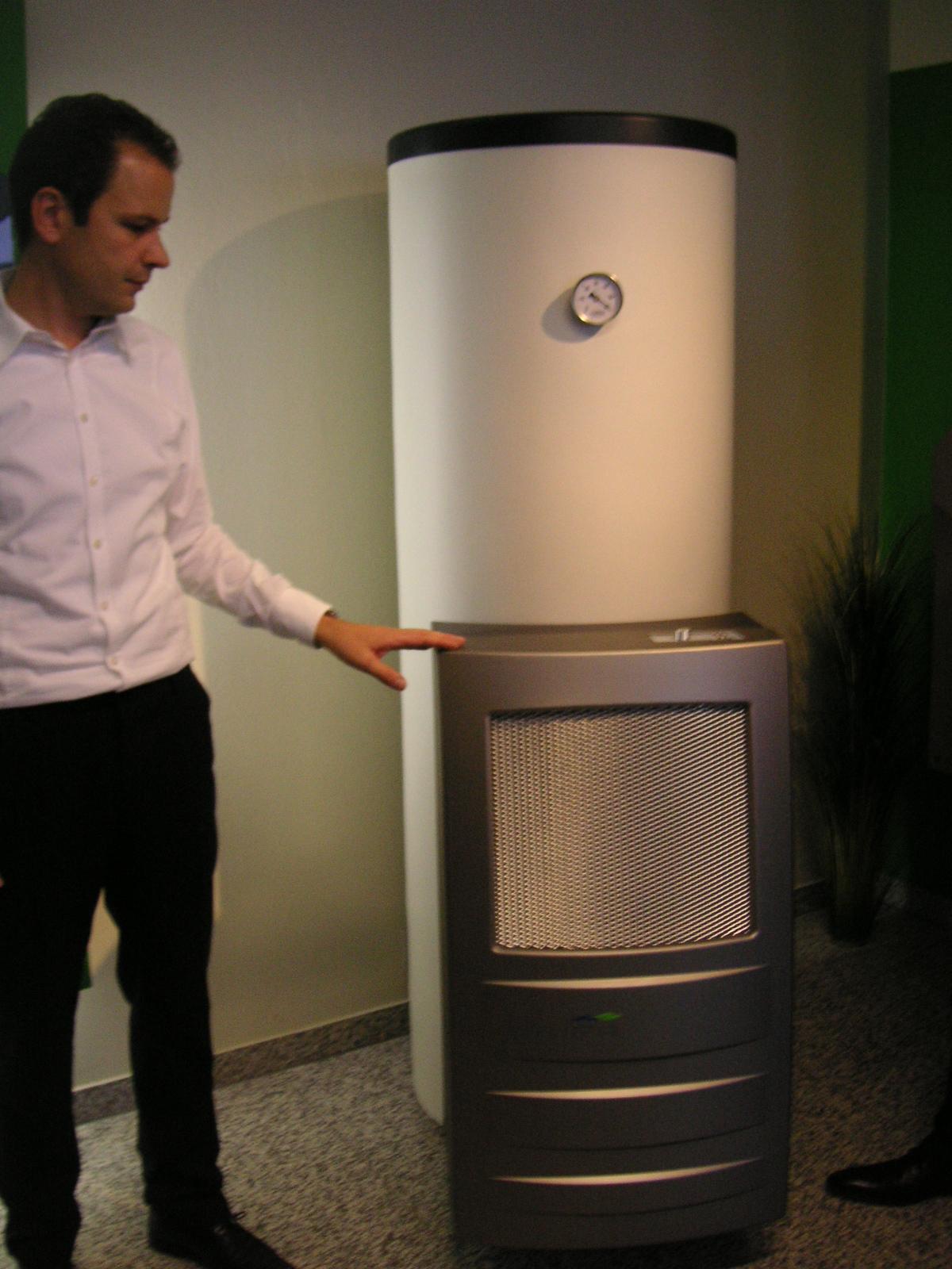 Neura warm water heat pump
