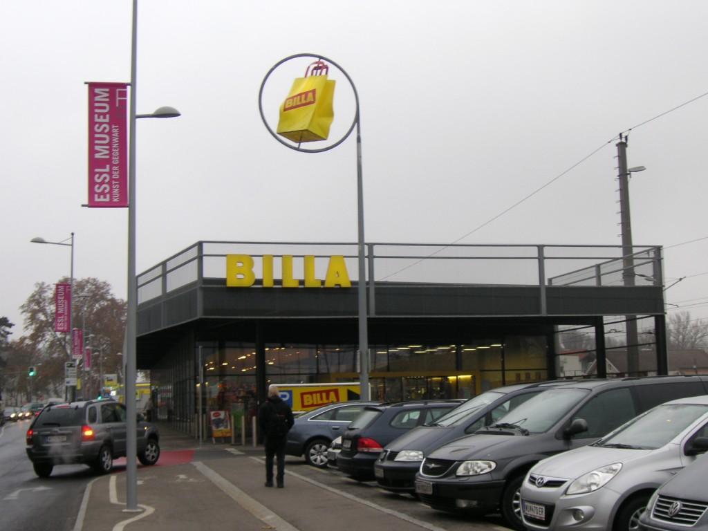 billa klosterneuburg supermarket austria