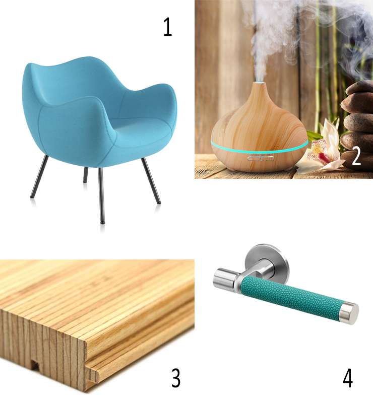 Isabel's Autumn Picks 2017, Vzor Armchair, AROMA DIFFUSER, Pollmeier,BauBuche, abbeywoods, Sembla, door handle, Ultrafabrics lever handle, Allgood