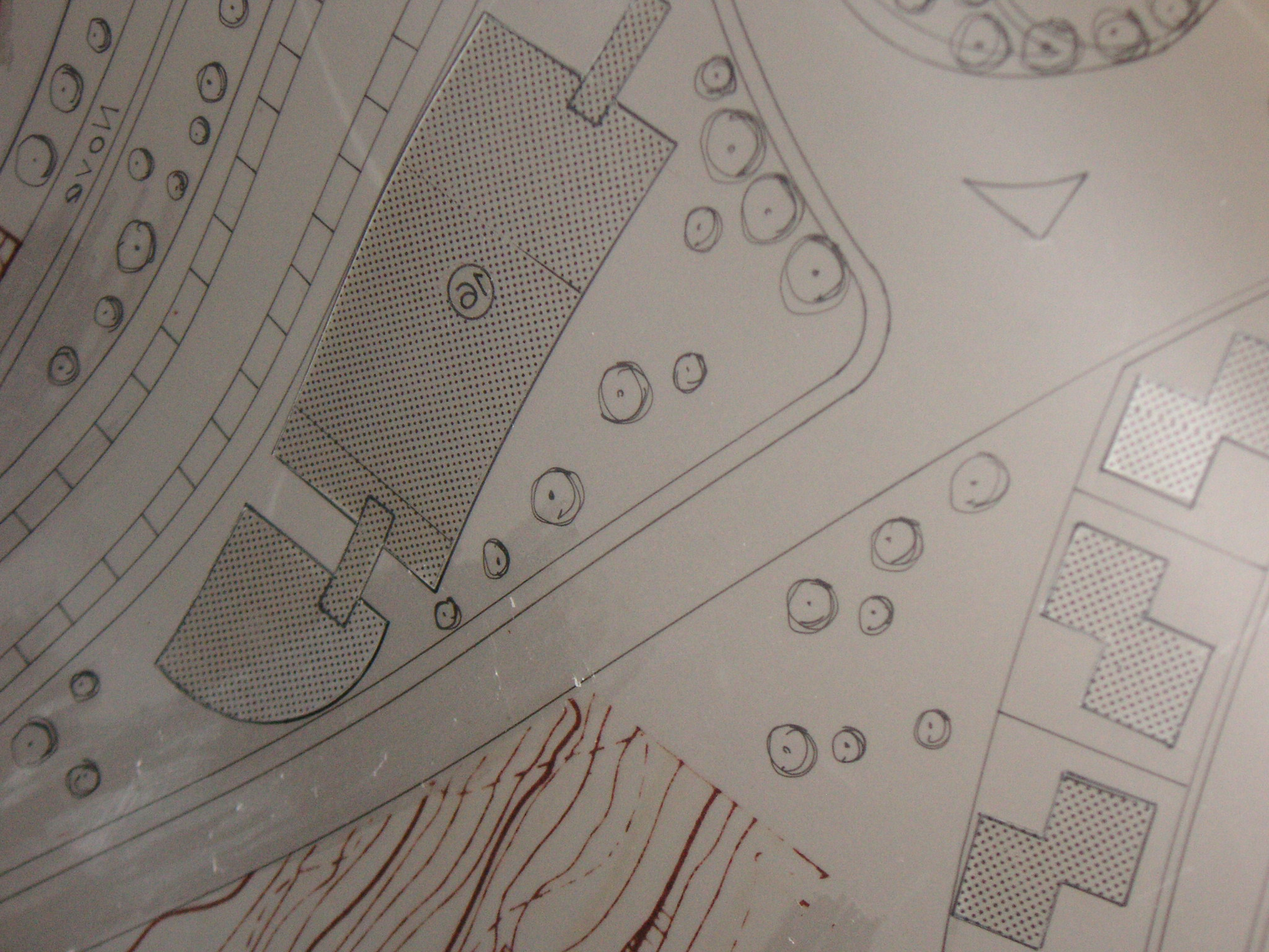 Patterns had to be cut to size from a special pattern sheet. © 2017 Isabel Barros Architects