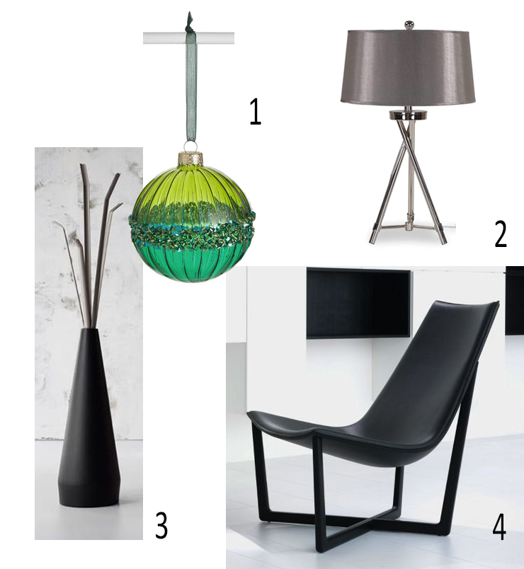 CHRISTMAS BAUBLE, John Lewis & Partners, TABLE LAMP, Lexi, EZ Living Furniture, Kadou COAT STAND, Bonaldo, Ryosuke Fukusada, Lomi Design, LOUNGE CHAIR, Porro Jade Chair, Christophe Pillet