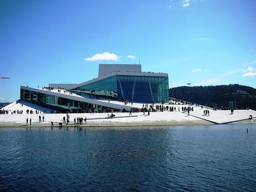 Snohetta Operahouse in Oslo